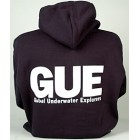 GUE Navy Zipper Hoodie - heavy weight