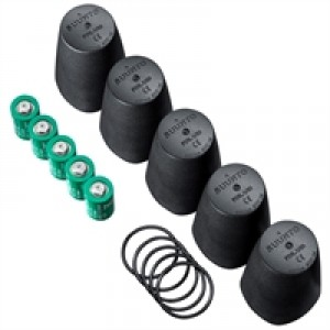 Transmitter battery replacement kit (5 pcs)