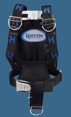 backplate with harness © Halcyon
